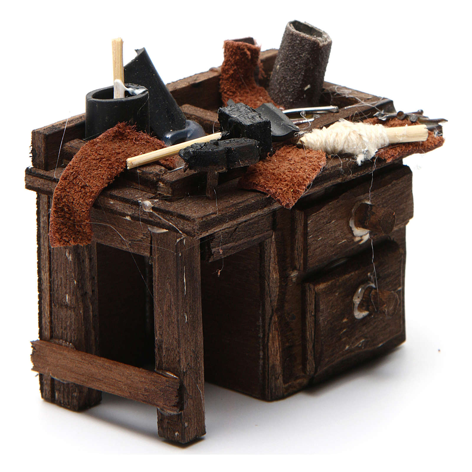 Mostrador del zapatero belén napolitano 5,5x9,5x5 cm 4
