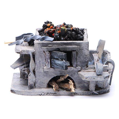Neapolitan Nativity accessory: forge measuring 6x8.5x6cm 1