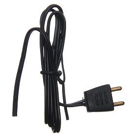 Enchufe bajo voltaje con 50 cm de cable s1