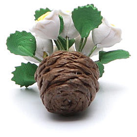 Vaso con fiori, accessorio per presepe assortiti s3