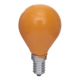 Lampada a sfera E14 25W Giallo s1