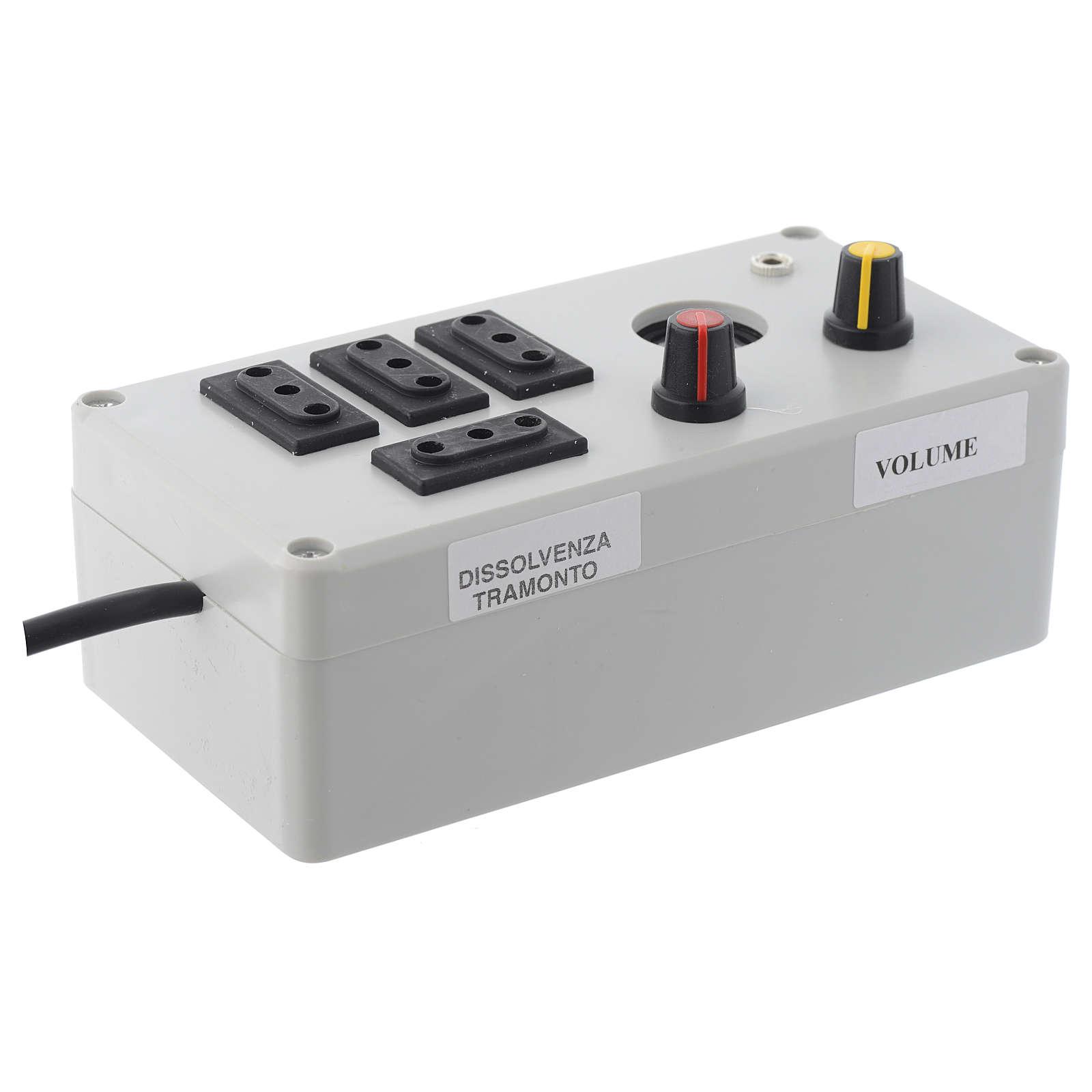 Mastro Music electric box 200W 4 phases 4