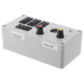 Mastro Music electric box 200W 4 phases s3