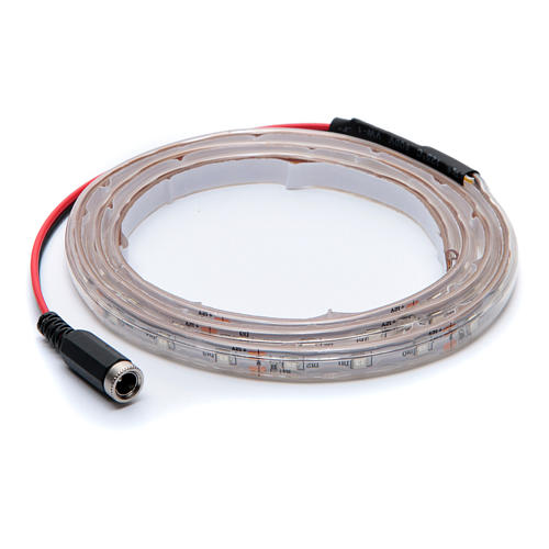 Striscia Led Giallo 1 m 30 led con connettore 3