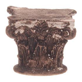 Capitel corintio 5x5x5 cm s1