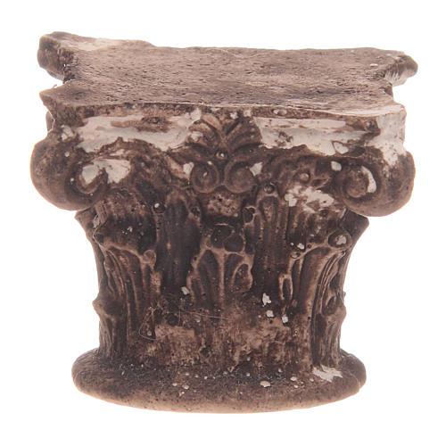 Capitel corintio 5x5x5 cm 1