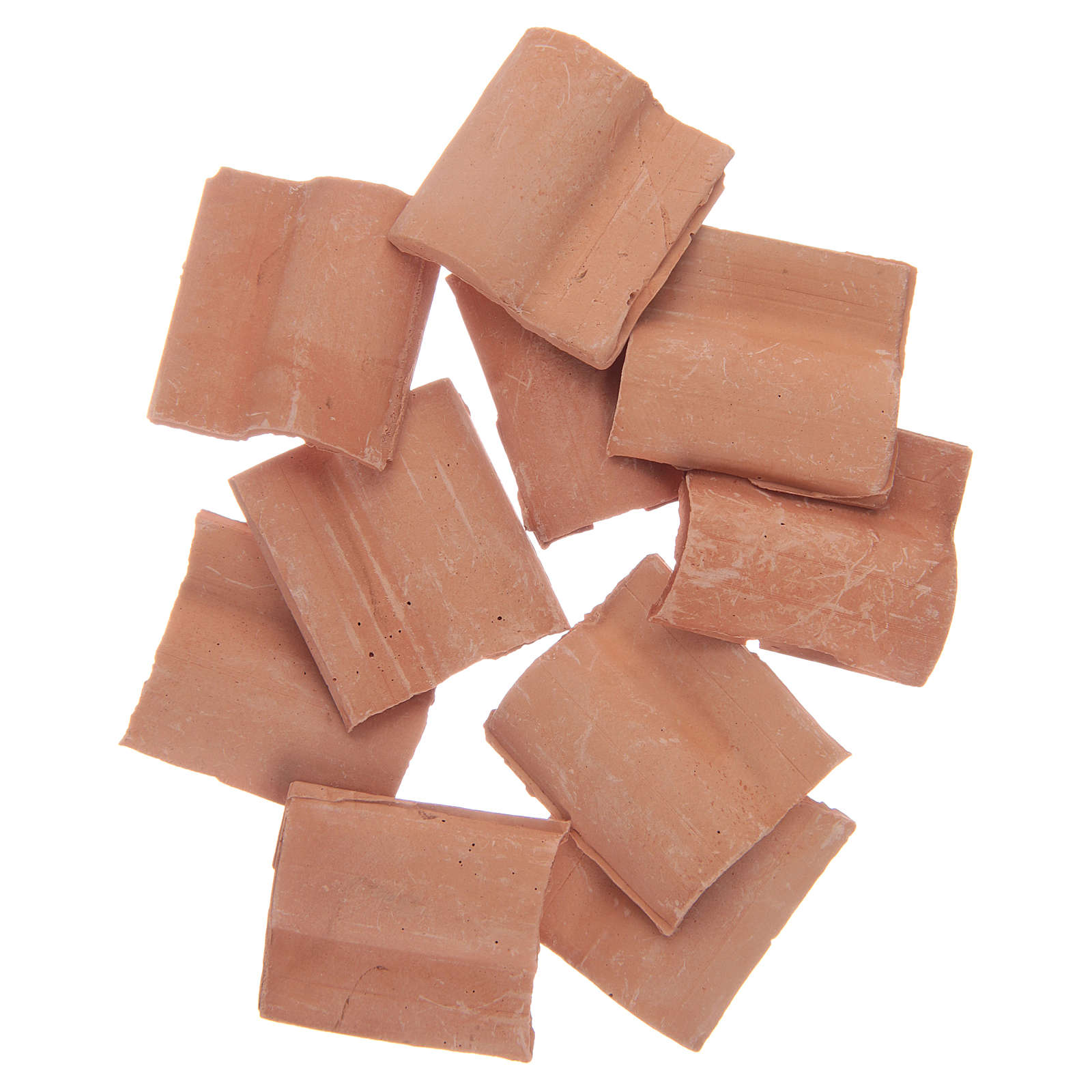 Roman resin tile terracotta colour 10 pieces 4