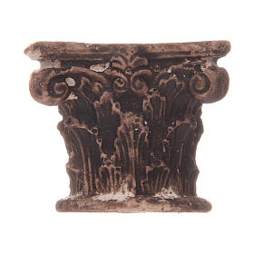 Corinthian semi capital in resin s1