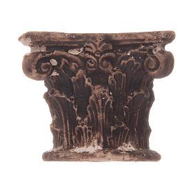 Semi capitel Corintio de resina s1