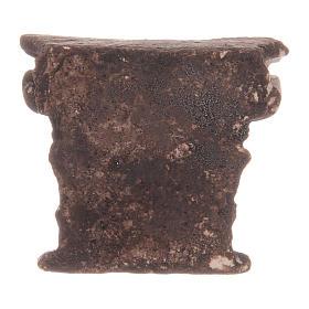 Meio capitel coríntio em resina s2