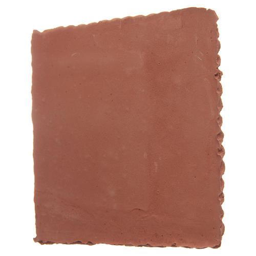 Prism resin roof in terracotta colour 3
