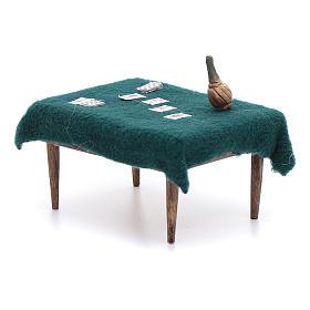 Cards table 5x10x5 cm, neapolitan Nativity Scene s2