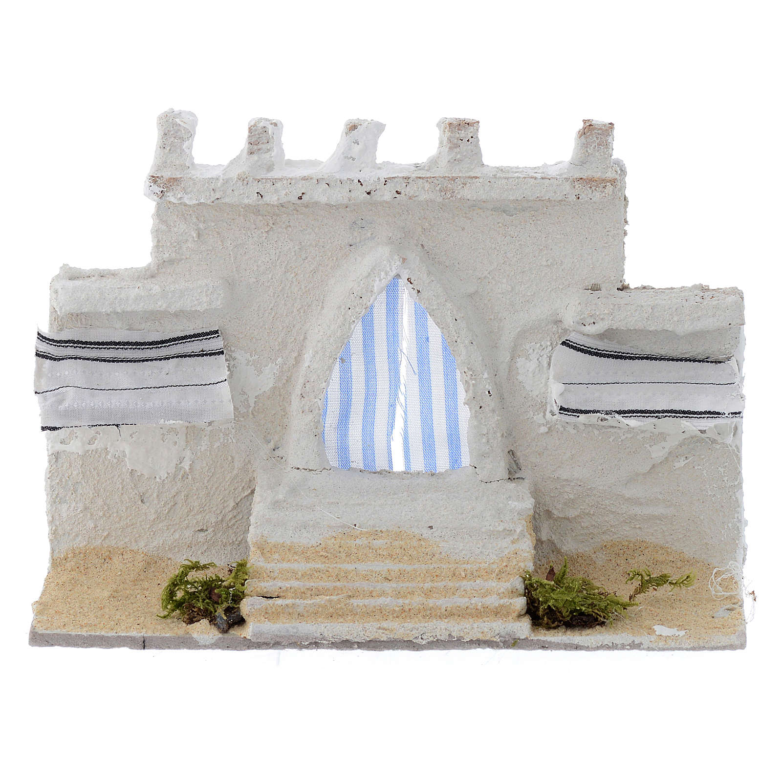 Arabian wall with curtains assorted colours 15x5x10 cm 4