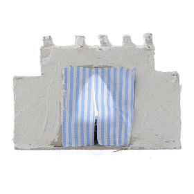 Arabian wall with curtains assorted colours 15x5x10 cm s3