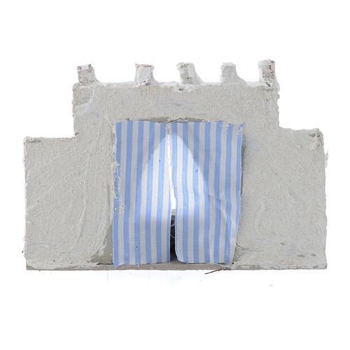 Parete araba con tende colori assortiti 15x5x10 cm 3