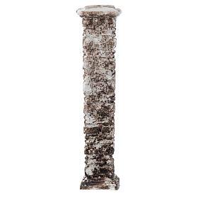 Resin column with ancient stones 15x5x5 cm s1