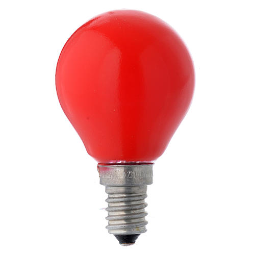 ampoule globe e14 25w rouge vente en ligne sur holyart. Black Bedroom Furniture Sets. Home Design Ideas