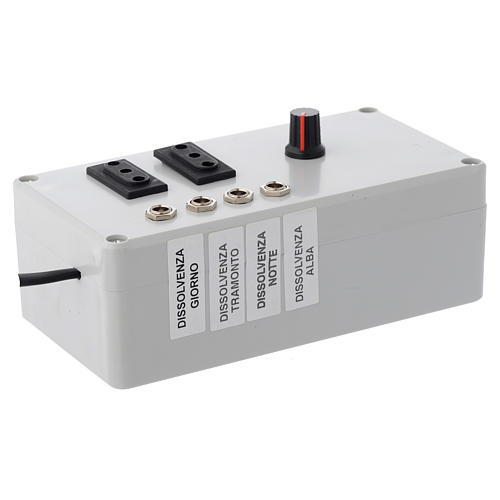 Electric box Mastro LED 4+2 da 24W and synchro plug 220 V 2