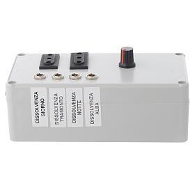 Centralina Mastro LED 4+2 da 24W e presa sincro 220V s1