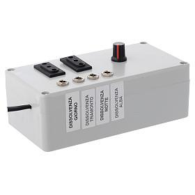 Centralina Mastro LED 4+2 da 24W e presa sincro 220V s2