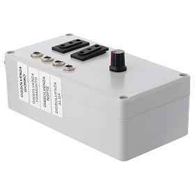 Centralina Mastro LED 4+2 da 24W e presa sincro 220V s3