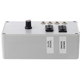 Centralina Mastro LED 4+2 da 24W e presa sincro 220V s4
