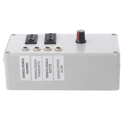 Centralina Mastro LED 4+2 da 24W e presa sincro 220V 1