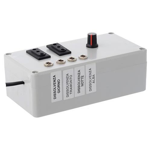 Centralina Mastro LED 4+2 da 24W e presa sincro 220V 2