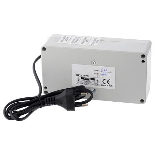 Centralina Mastro LED 4+2 da 24W e presa sincro 220V 6
