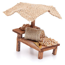 Stall with wheat for DIY nativities s2