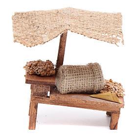 Comida em Miniatura para Presépio: Banca trigo 10x10x5 cm