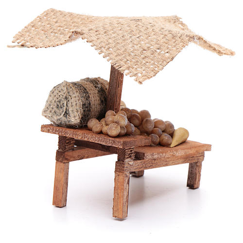 Stall with potatoes for DIY nativities 3