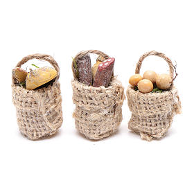 Eggs and sausage baskets 3 pieces s1