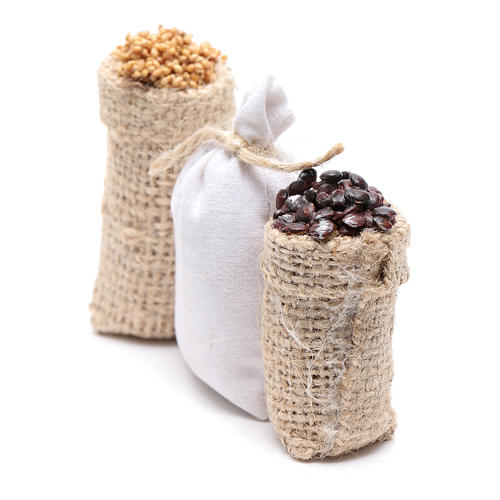 Sacks with chestnuts and flour 3 pcs 2