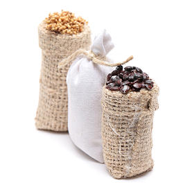 Sacks with chestnuts and flour 3 pcs s2