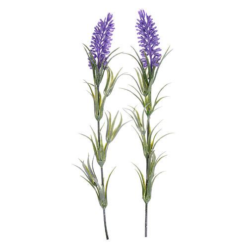 Kwiaty lawendy do szopki 1