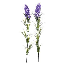 Nativity scene lavander flowers s2