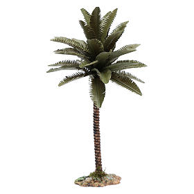 Palm tree in resin 25 cm for DIY Nativity Scene s1
