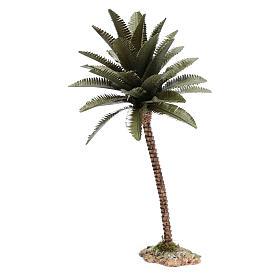 Palma resina para belén hecho con bricolaje 25 cm de altura media s2