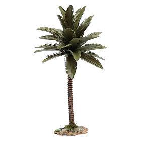 Palmier résine pour bricolage crèche 25 cm s1