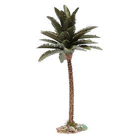 Palmier résine pour bricolage crèche 25 cm s3