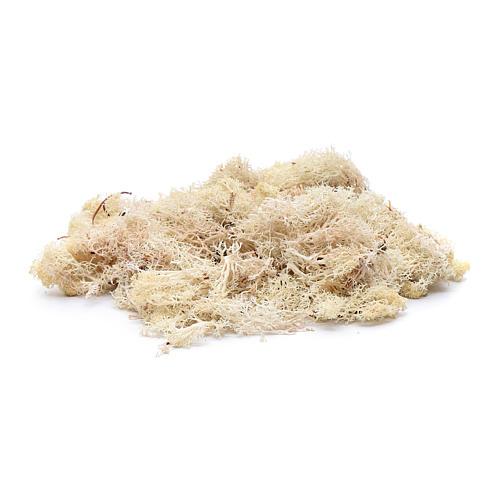 Lichene bianco 100 gr per presepe 2