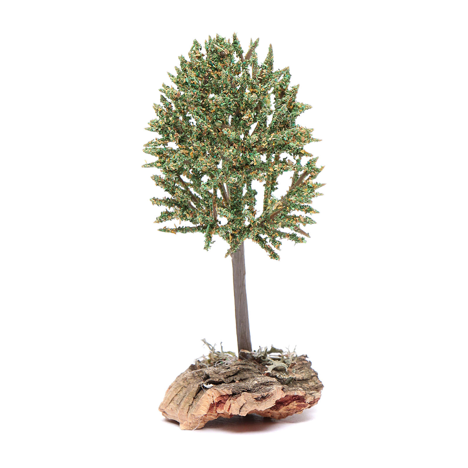 Tree on rock for 12 cm nativity 4