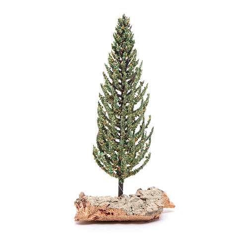 Nativity scene cypress 12 cm 3