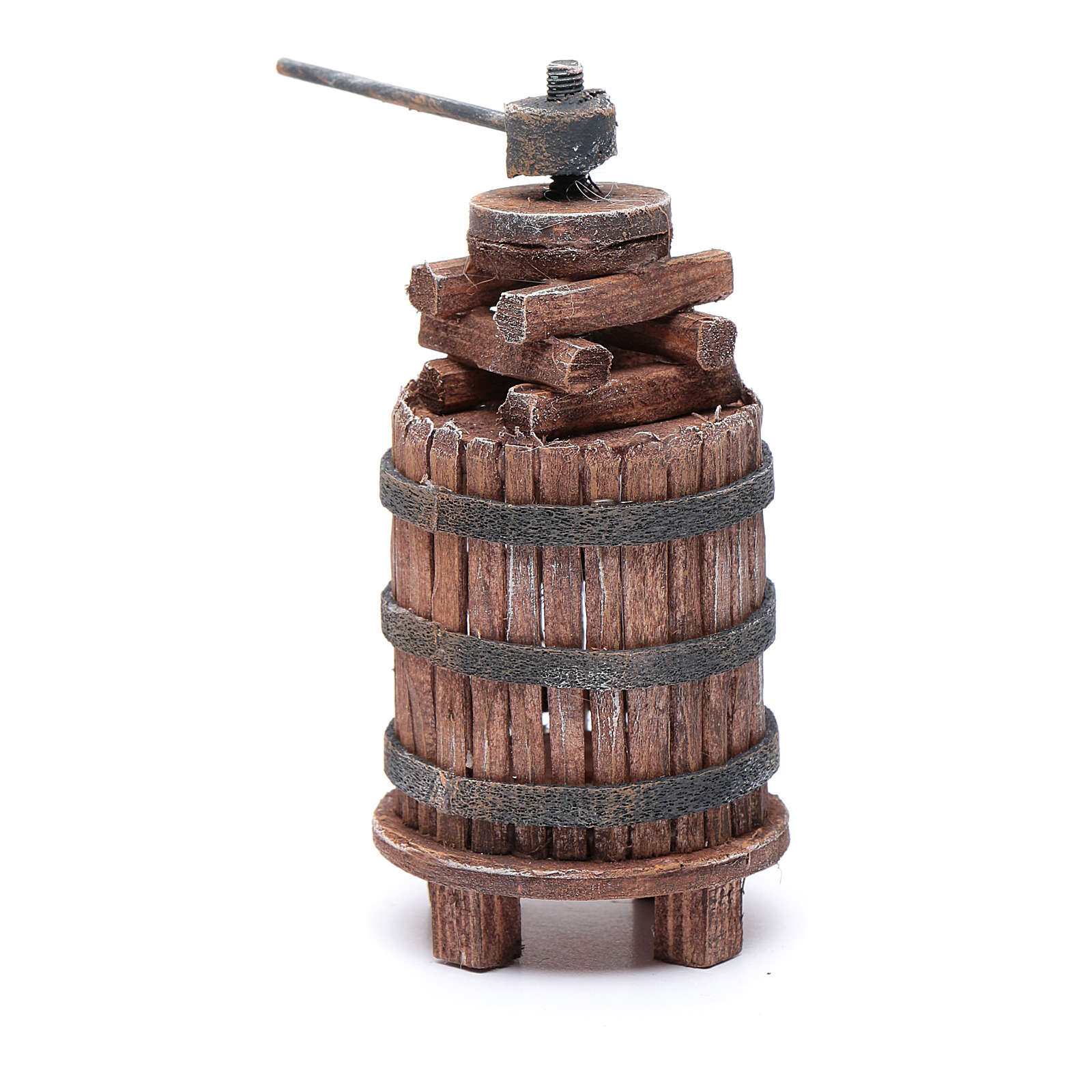 Nativity scene wine press 11,5 cm 4