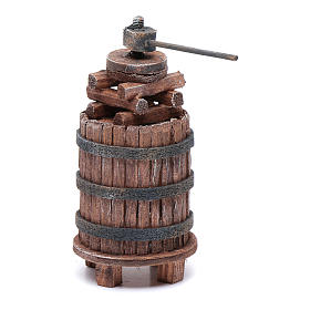 Nativity scene wine press 11,5 cm s1