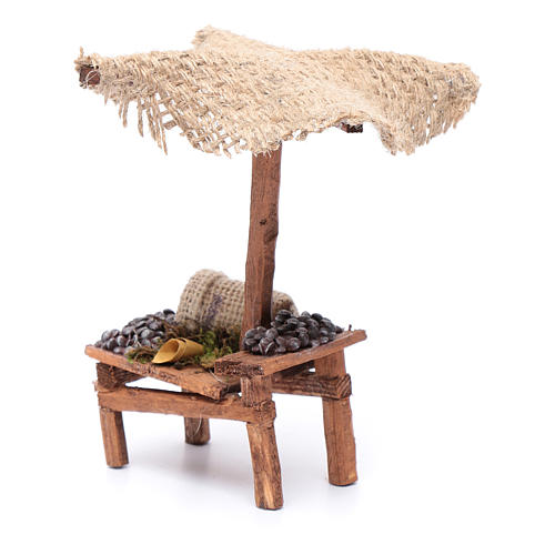 Stall with chestnuts 4