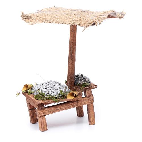 Banchetto con pesciolini 15x5x10 cm 3