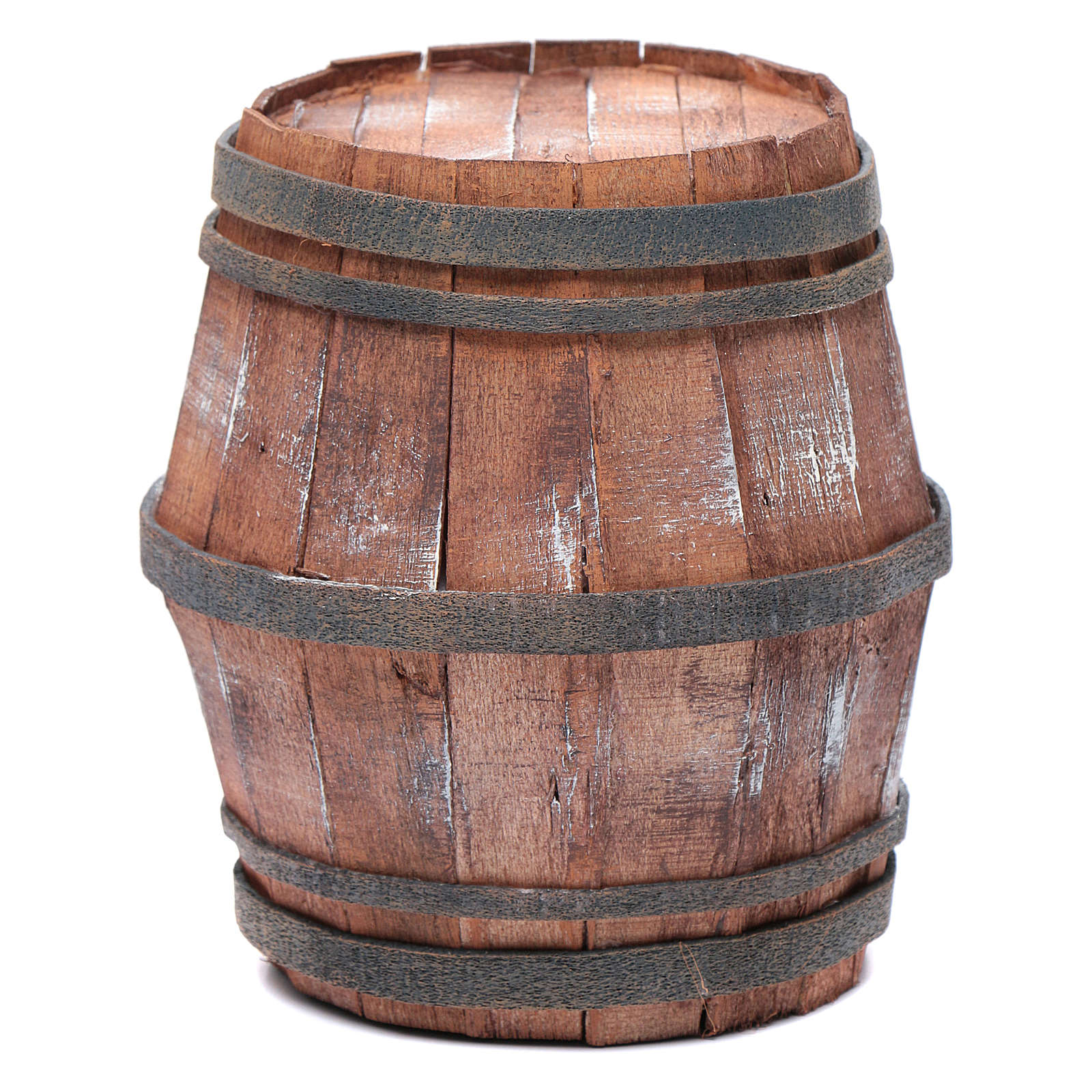 Botte in legno per presepe 15 cm 4