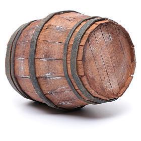 Botte in legno per presepe 15 cm s2